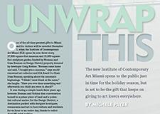 Aventura magazine: Miami's New Institute of Contemporary Art