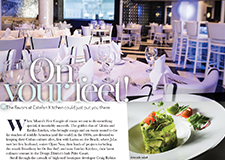 Estefan Kitchen:  inWeston inDoral magazines